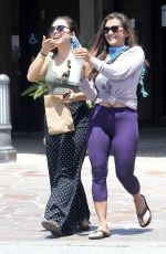 NIA PEEPLES Out with a Friend in Malibu 07/09/2020