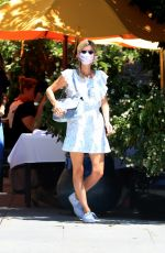 NICKY HILTON Out for Lunch in Beverly Hills 07/29/2020