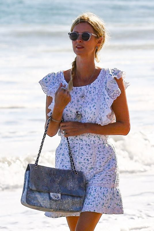NICKY HILTON Out on the Beach in Malibu 07/04/2020