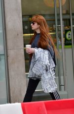 NICOLA ROBERTS Out for Coffee on Kensington Street 07/13/2020