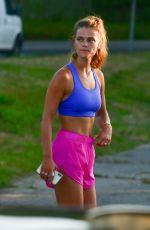NINA AGDAK Workout in The Hamptons 07/09/2020