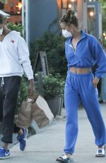 NINA AGDAL and Jack Brinkley-cook at Tutto Il Giorno Restaurant in New York 07/23/2020
