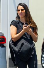 OLIVIA MUNN Leaves a Gym in Los Angeles 07/29/2020