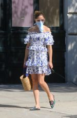 OLIVIA PALERMO Out with Her Dog in Brooklyn 07/30/2020