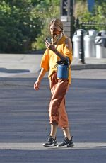 OLIVIA PALERMO Wearing a Mask Out in New York 07/13/2020