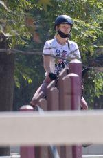 OLIVIA WILDE at Horseback Riding in Thousand Oaks 07/23/2020