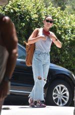 OLIVIA WILDE in Denim Out in Los Feliz 07/11/2020