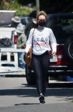 OLIVIA WILDE Out and About in Los Angeles 07/08/2020