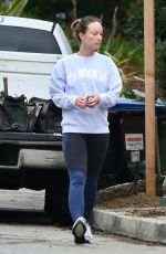 OLIVIA WILDE Out in Los Angeles 07/03/2020