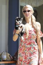 PARIS HILTON Out Shopping in Malibu 07/26/2020