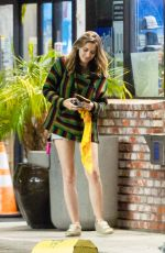 PARIS JACKSON in Denim Shorts at a Gas Station in Los Angeles 06/30/2020