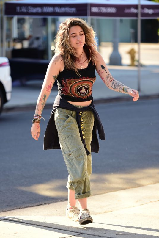 PARIS JACKSON Out and About in Los Angeles 07/27/2020