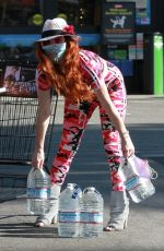PHOEBE PRICE Out Shopping in Los Angeles 07/03/2020