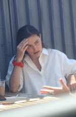 PHOEBE TONKIN Out for Lunch in Beverly Hills 07/26/2020