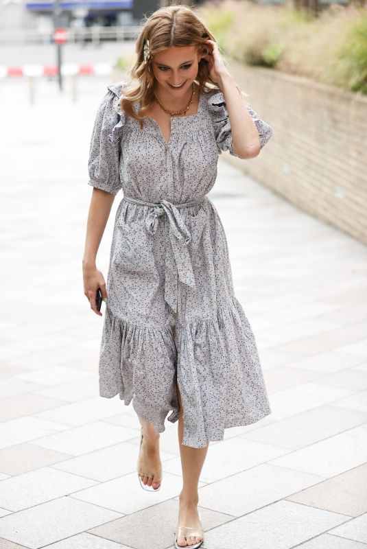 PIXIE LOTT Arrives at Sunday Brunch Show in London 07/26/2020