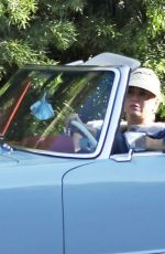 Pregnant KATY PERRY and Orlando Bloom Out Driving in Santa Monica 07/08/2020