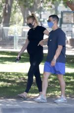 Pregnant SOPHIE TURNER and Joe Jonas Out in Los Angeles 07/14/2020