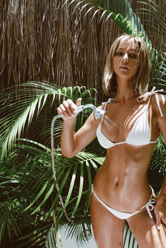RACHEL COOK in Bikini in Tulum - Instagram Photos 07/16/2020