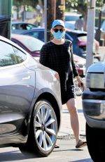 RACHEL MCADAMS Out Shopping in Los Angeles 07/08/2020