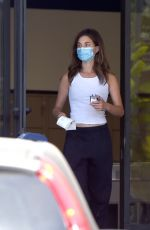 RAINEY QUALLEY at a Post Office in Los Angeles 07/27/2020