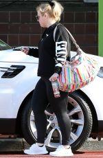 REBEL WILSON Leaves a Gym in Sydney 07/01/2020