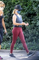 REESE WITHERSPOON Out Hiking with a Friend in Santa Monica 07/09/2020