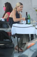 RHEA SEEHORN Out for Lunch in Beverly Hills 07/13/2020