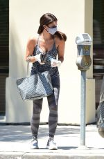 ROSALYN SANCHEZ Leaves a Medical Building in Los Angeles 07/17/2020