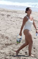 SAM FAIERS in Swimsuit at a Beach in Spain 07/24/2020