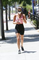SARA SAMPAIO Heading to a Gym in Los Angeles 07/07/2020