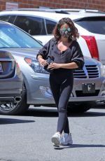 SARAH HYLAND Out and About in Los Angeles 07/17/2020