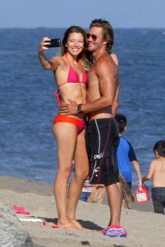 SARAH ROEMER in Bikini and Chad Michael at a Beach in Malibu 07/09/2020