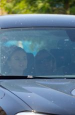 SELENA GOMEZ Leves a Spa Center in Sherman Oaks 07/22/2020