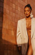SHAY MITCHELL for Beis, July 2020
