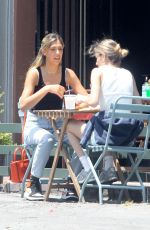 SISTINE STALLONE Out for Lunch in Beverly Hills 07/24/2020