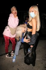TANA MONGEAU Night Out with Friends in West Hollywood 07/10/2020
