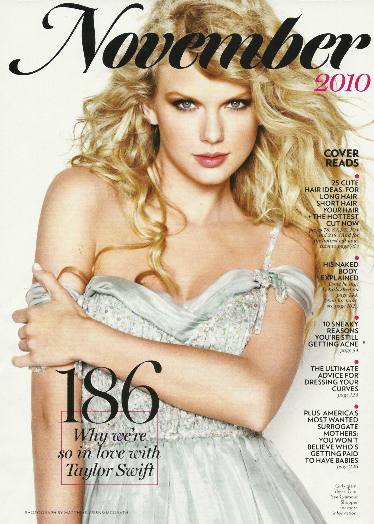 Taylor Swift In Glamour Magazine  December 2010  U2013 Hawtcelebs