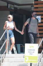 TINA LOUISE and Brian Austin Green at Sage in Agoura Hills 07/13/2020