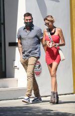 TINA LOUISE and Brian Austin Green at Sugar Taco in Los Angeles 07/08/2020