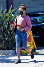 VANESSA HUDGENS in Leggings Out in West Hollywood 07/15/2020