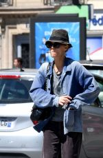 VANESSA PARADIS Out and About in Paris 07/13/2020