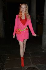 VICTORIA CLAY Out for Dinner in Mayfair 07/10/2020
