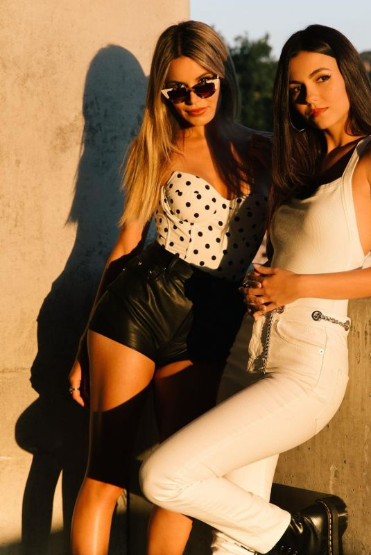 VICTORIA JUSTICE and MADISON REED at a Photoshoot, July 2020