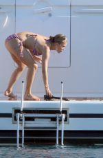 VICTORIA SWAROVSKI in Bikini at a Yacht 06/29/2020