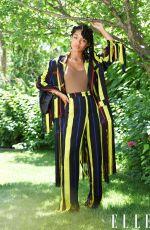 YARA SHAHIDI for Elle Magazine, July 2020