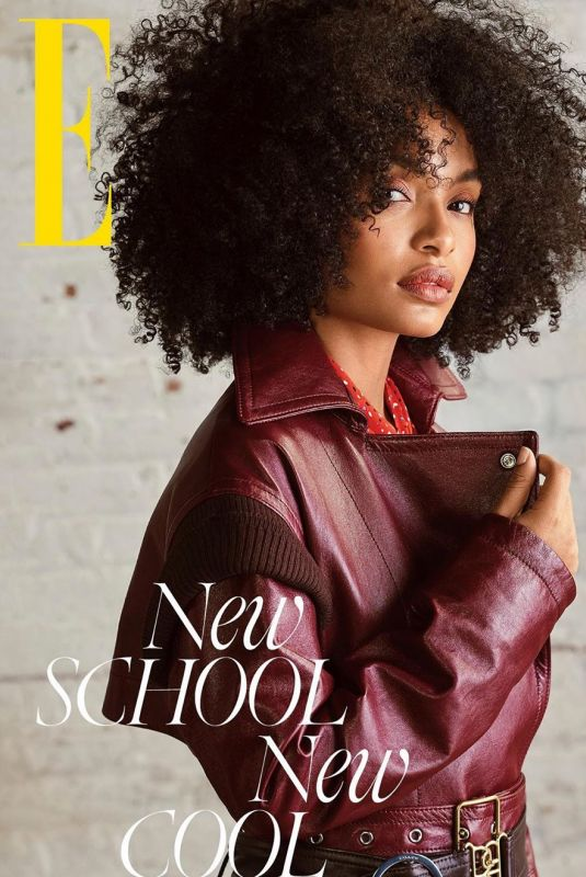 YARA SHAHIDI in Elle Magazine, Singapore March 2020