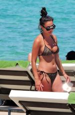 YAZMIN OUKHELLOU in Bikini in Spain 07/20/2020