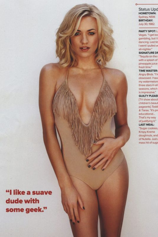 YVONNE STRAHOVSKI in Maxim Magazine, Australia March 2012