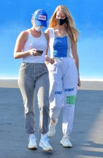 ABBY CHAMPION and Patrick Schwarzenegger Out Shopping at Maxfield in West Hollywood 08/04/2020