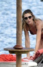 ABIGAIL ABBEY CLANCY in Bikini at a Beach in Italy 08/18/2020